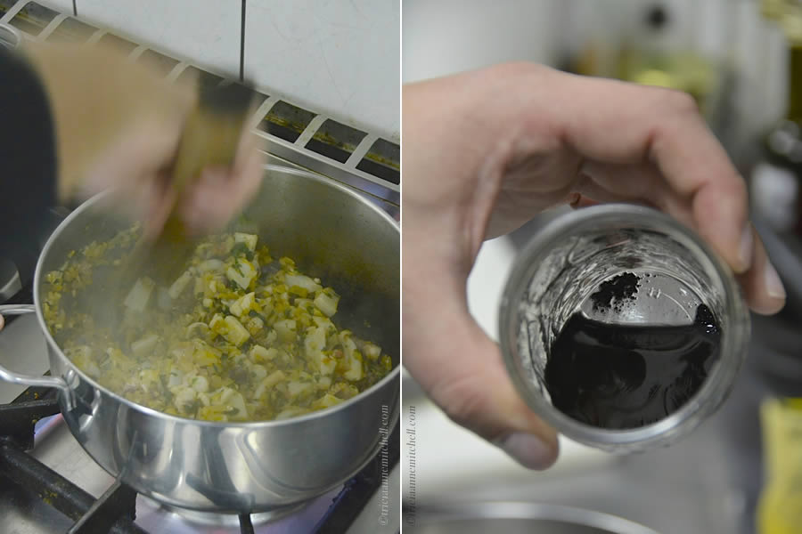 Cuttlefish Ink in Croatian Cooking Class