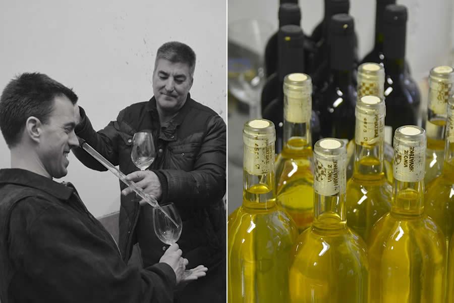 Krolo Winery Bottles