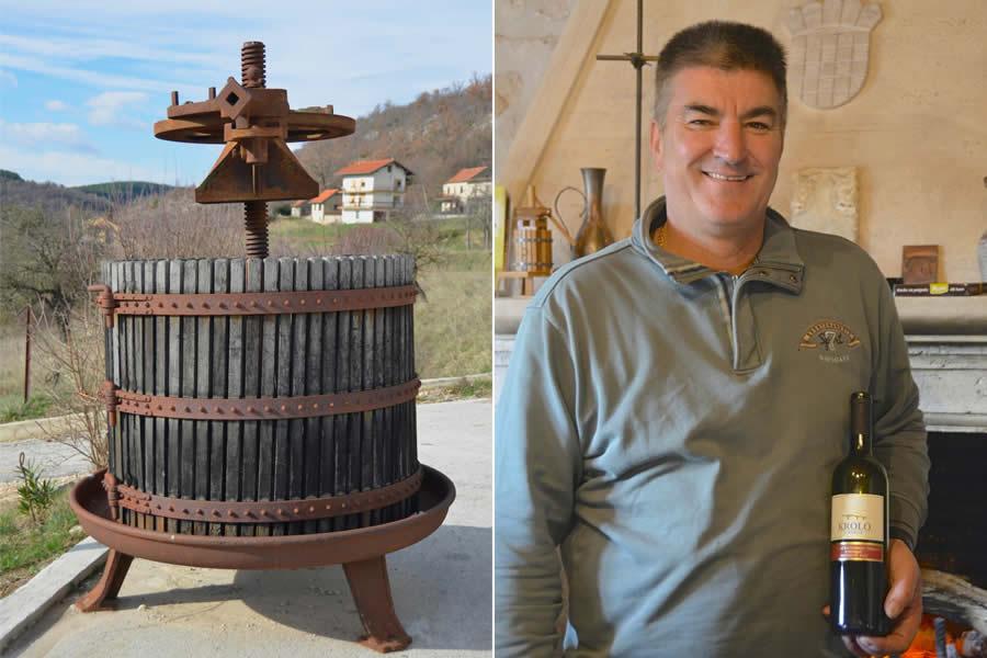 Krolo Winery in Croatia