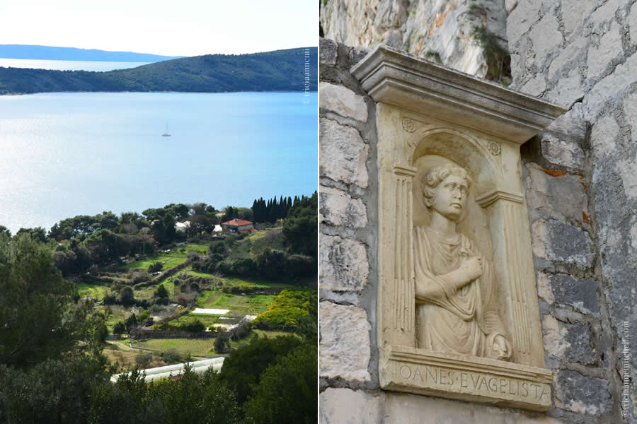 Marjan Church Detail Split Croatia