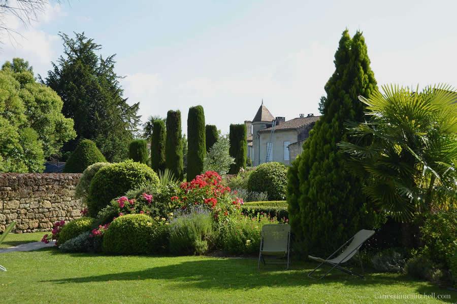 Saint Emilion Bordeaux Hotel Garden