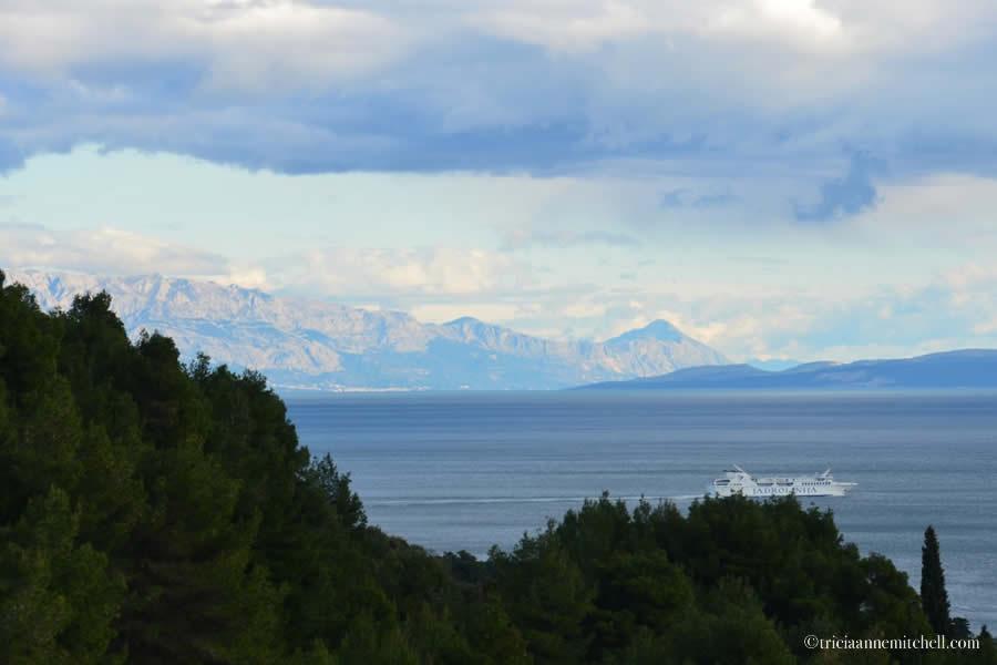 Split Croatia Mountains
