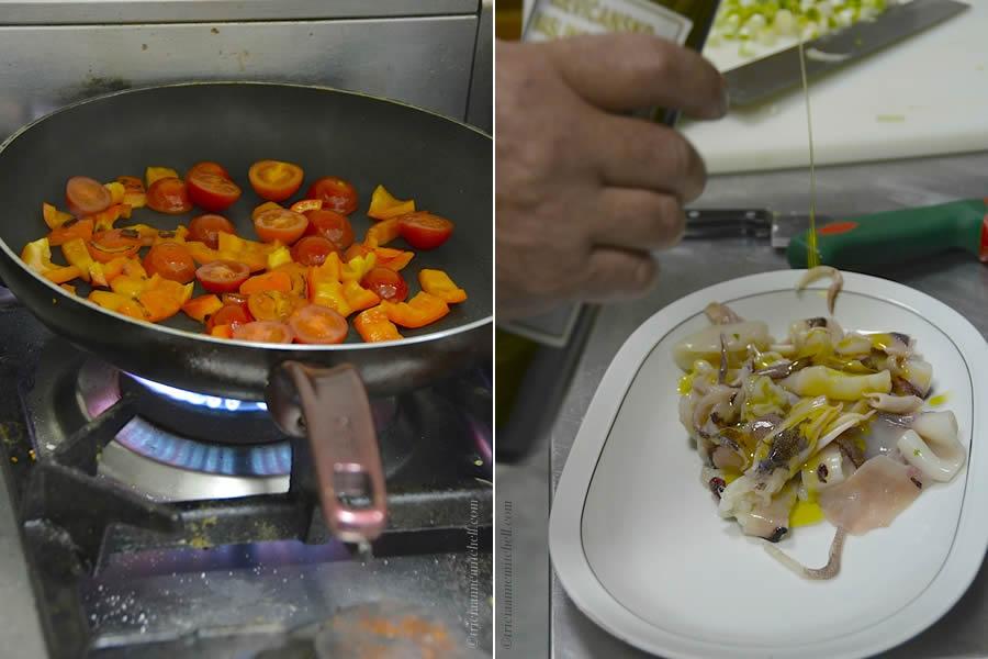 Squid in Croatian Cooking Class
