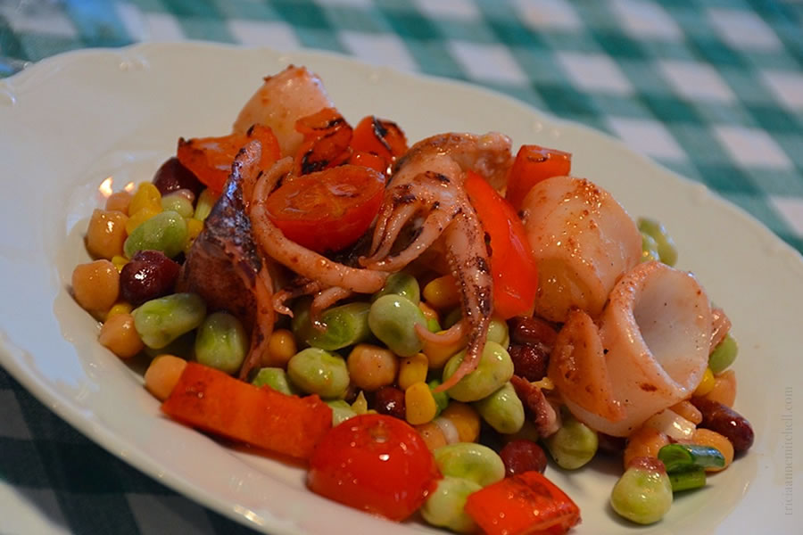 Squid-Salad-Croatian-Cooking-Class