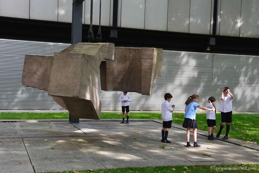 Bilbao Fine Arts Museum Schoolchildren