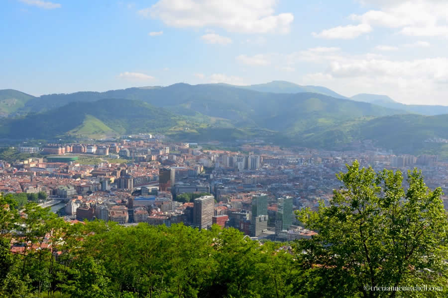 Bilbao Skyline Funicular View