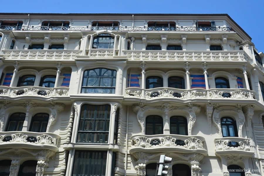 Bilbao Student of Gaudi Building