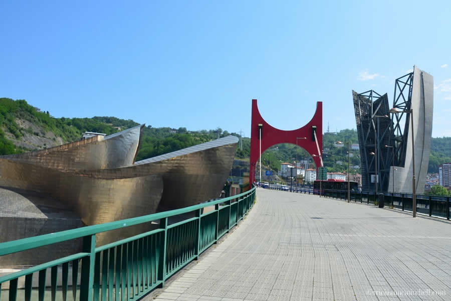 Bridge Guggenheim Bilbao