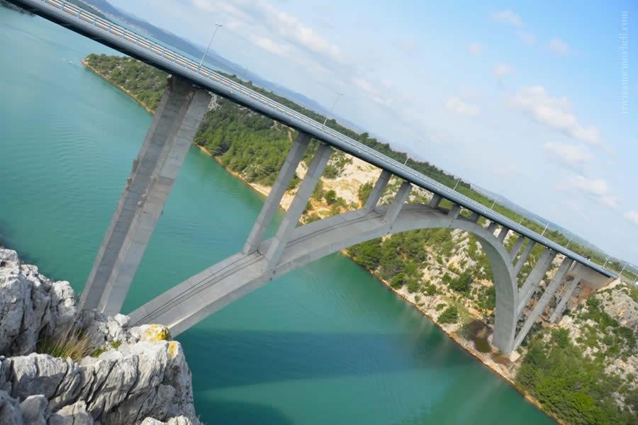 Bridge Krka River, Croatia