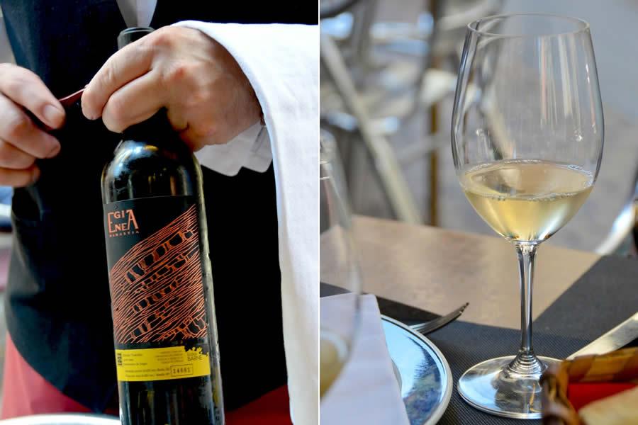 Egia Enea Txakolina wine