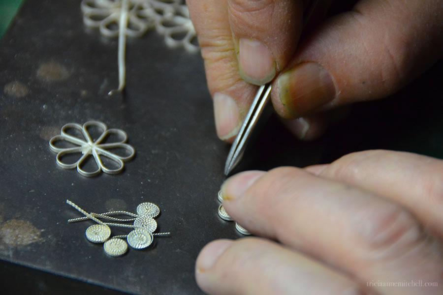 Filigree Making Process Split Croatia Jeweler
