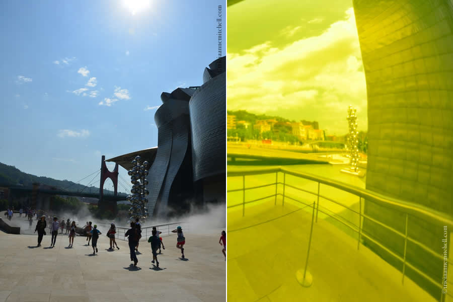 Guggenheim exterior Bilbao