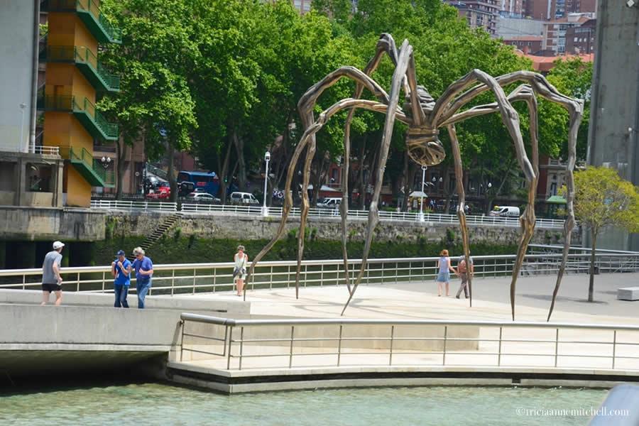 Guggenheim Maman Spider Sculpture Bilbao