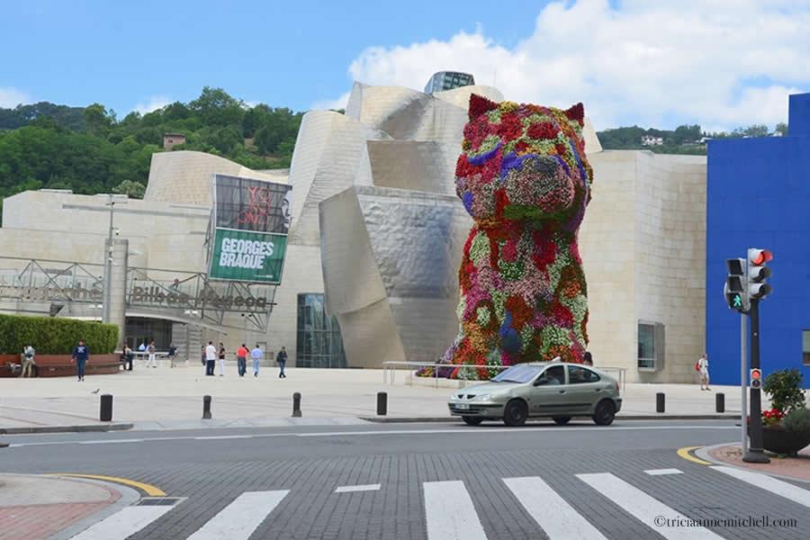Guggenheim Museum Bilbao Puppy