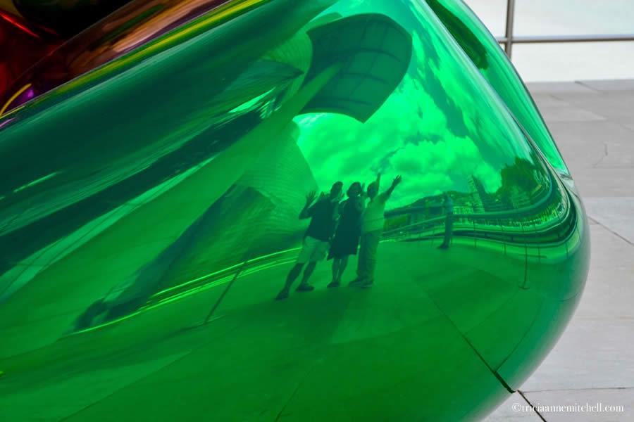 Guggenheim Museum Tulips Bilbao