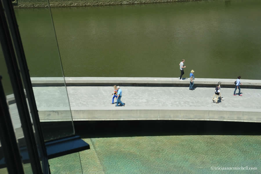 Guggenheim Museum Walkway