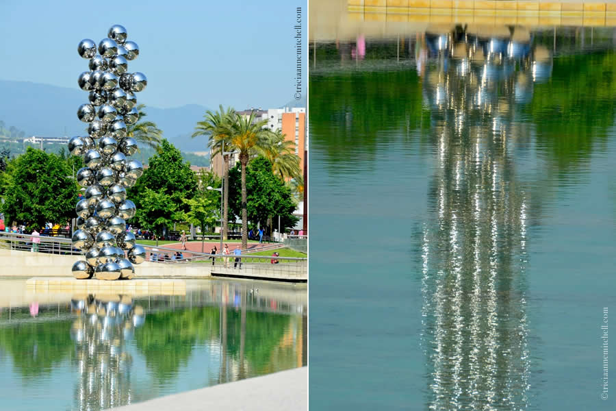 Guggenheim stainless steel balls