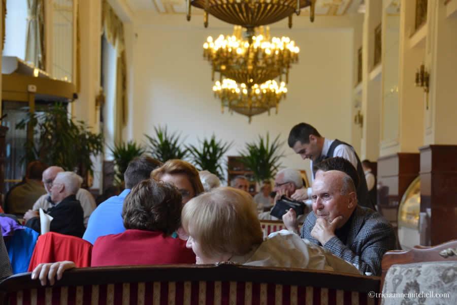 Hotel Moskva Café Belgrade