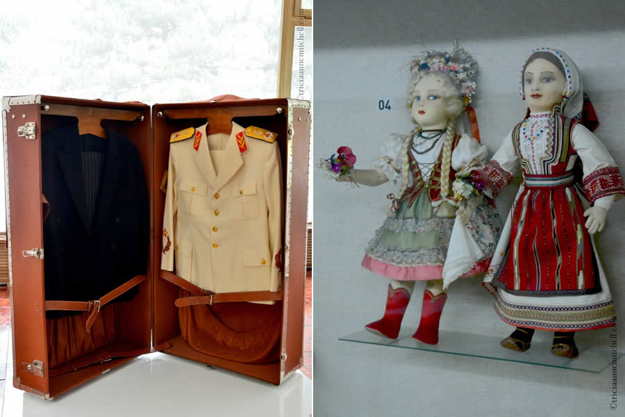 House of Flowers Yugoslav History Museum Clothes Dolls