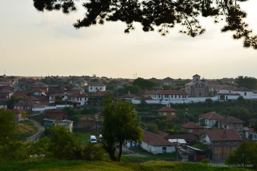 Kalofer bulgaria at sunset