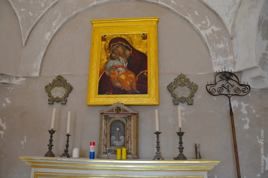 Klis Fortress Tour Church of St. Vid Vitus Interior