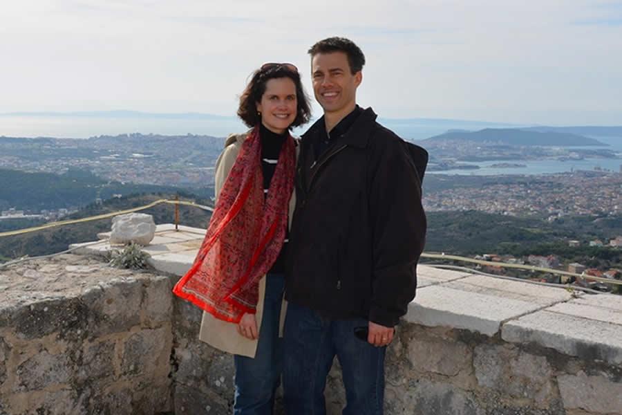 Klis Fortress View of Split Croatia