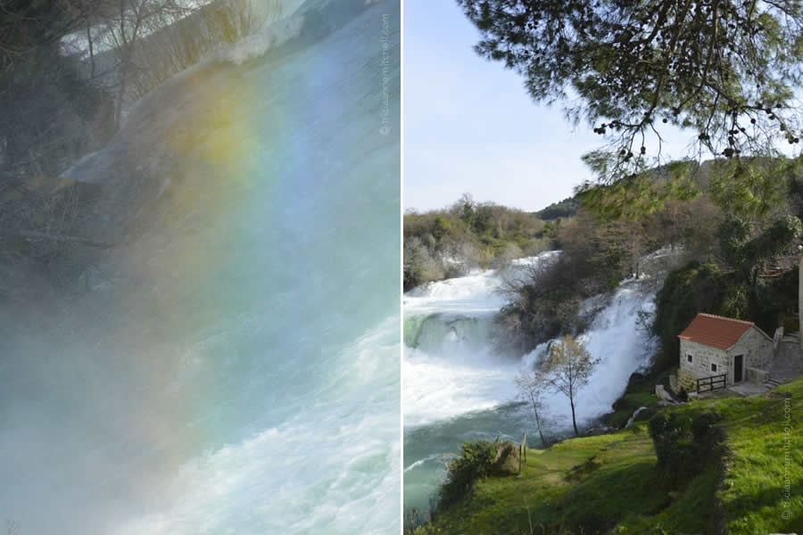 Krka National Park and Rainbow