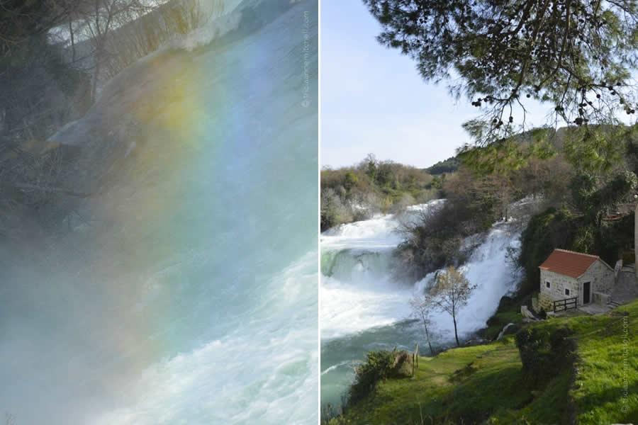 Krka National Park and Rainbow