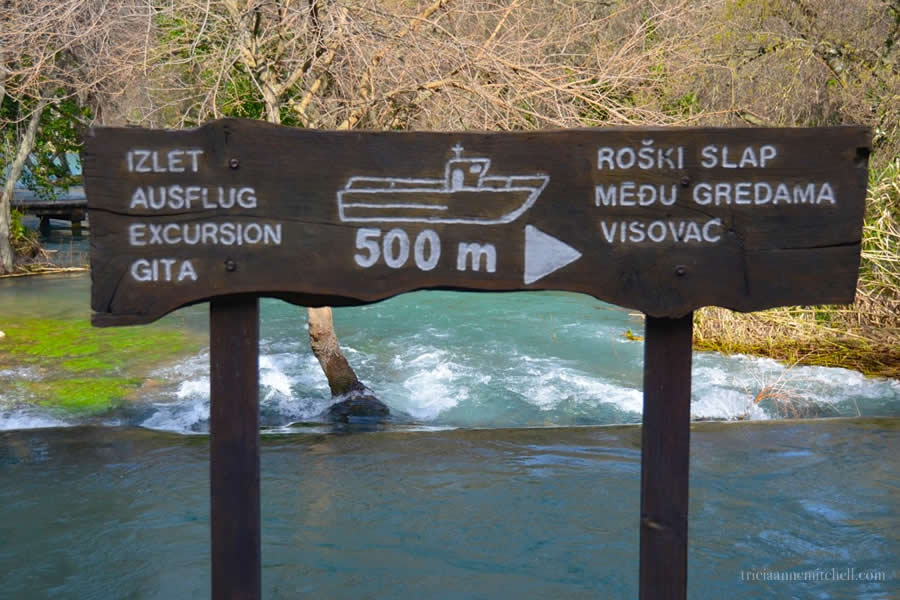 Krka National Park Boat Excursion