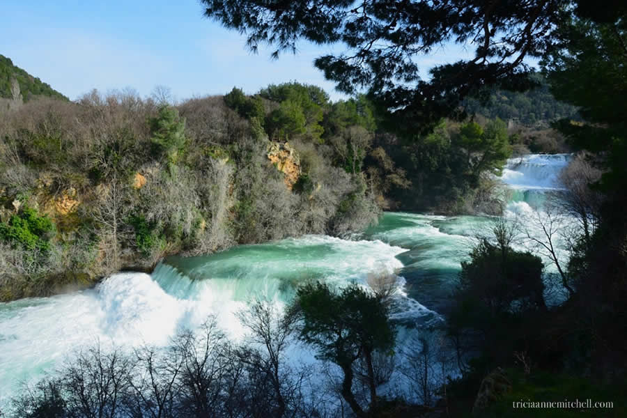 Krka National Park Croatia waterfalls 2