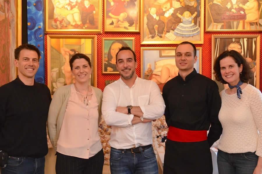 LORENZO I KAKALAMBA restaurant staff