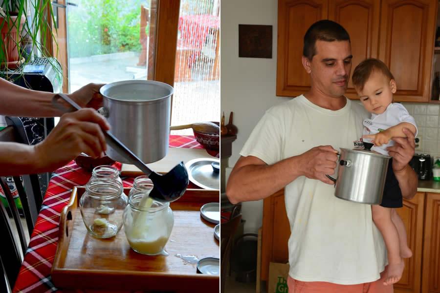 Making Bulgarian Yogurt