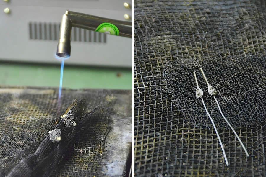 Making Croatian Silver Filigree Jewelry