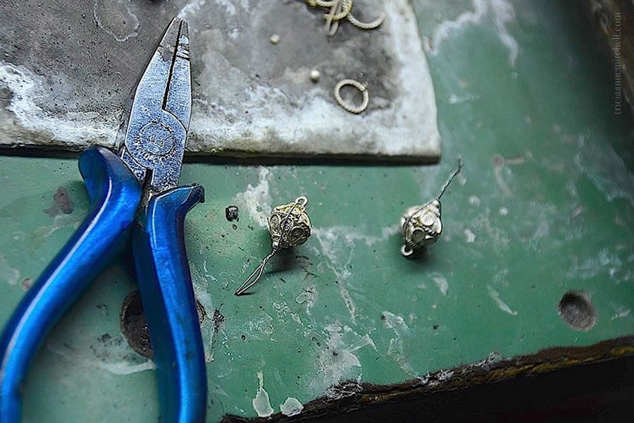 Making Filigree Jewelry Split Croatia Earrings