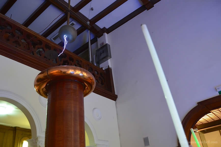 Nikola Tesla Museum Belgrade Light Sabre Coil