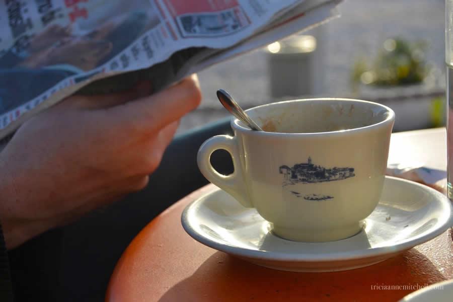 Primosten Croatia Cafe