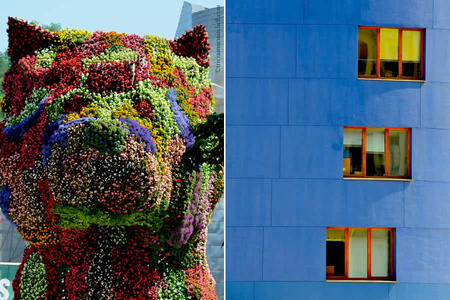 Puppy Guggenheim Dog Topiary Bilbao
