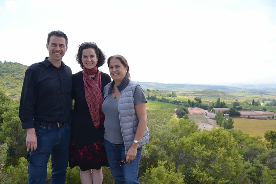 Remelluri Winery Rioja Alavesa Vineyards Overlook