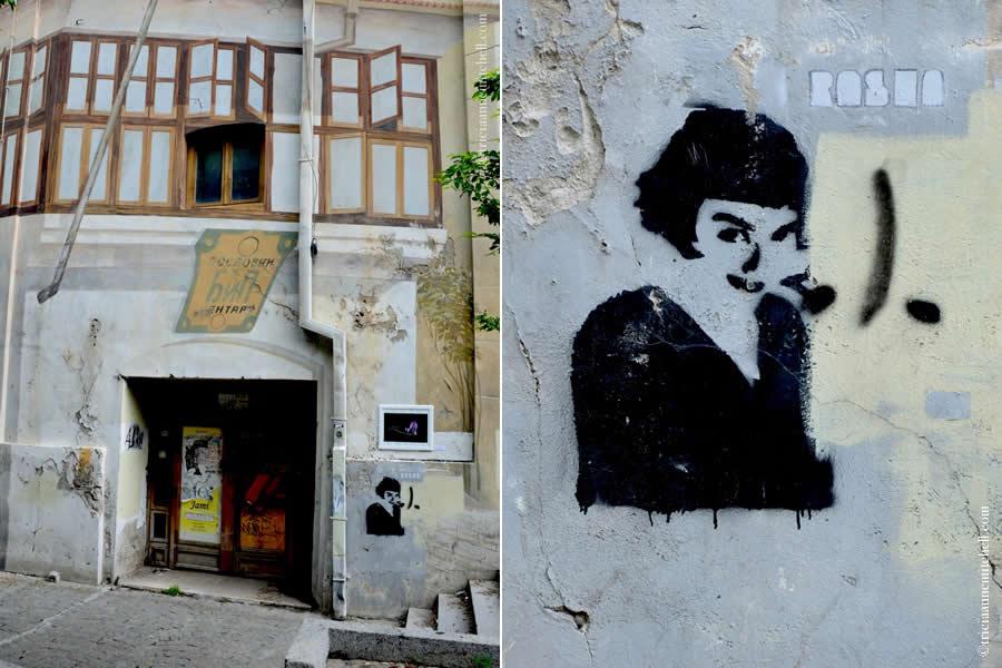 Skadarlija Montmartre of Belgrade Street Art