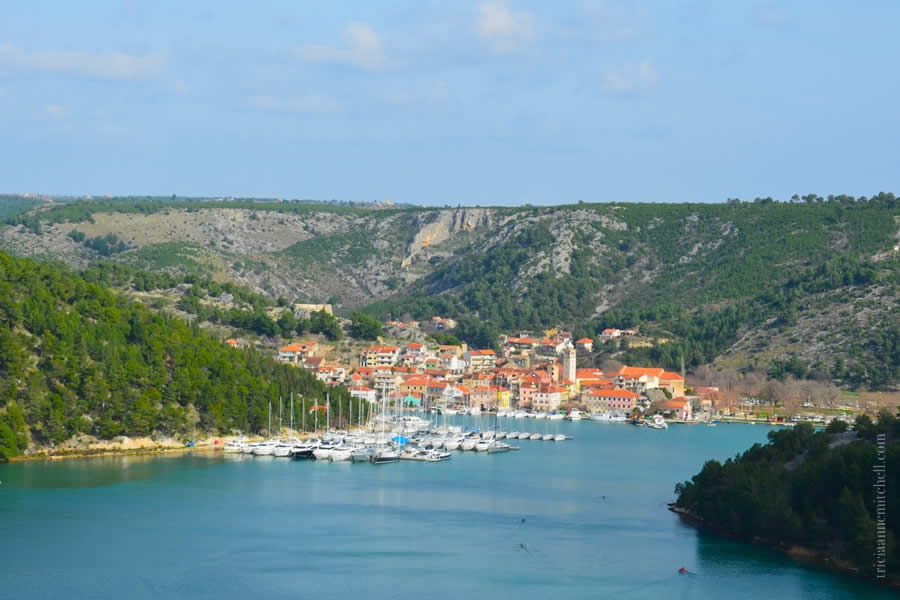 Skradin, Croatia and Krka River