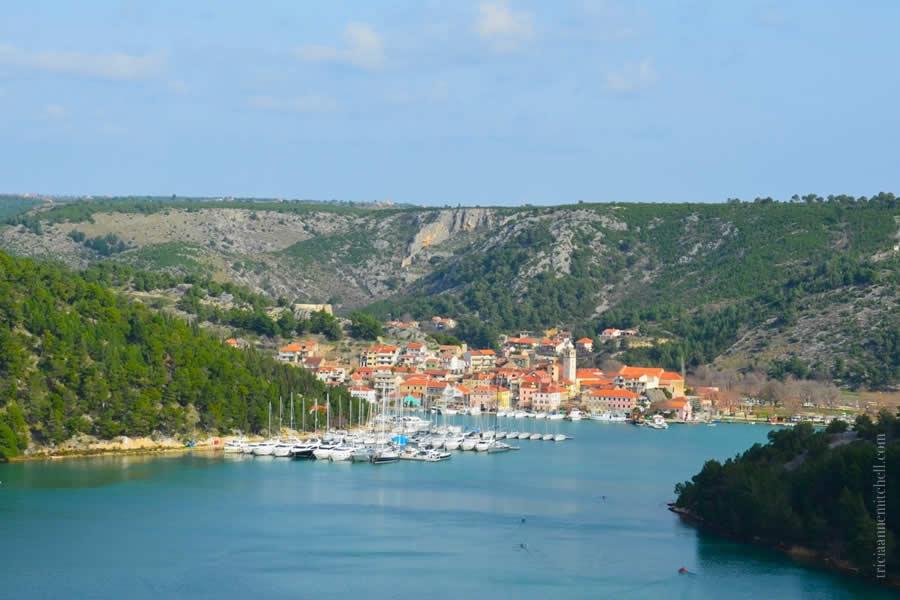 Skradin, Croatia and Krka River