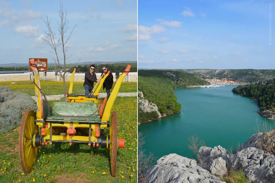 Skradin Croatia River View