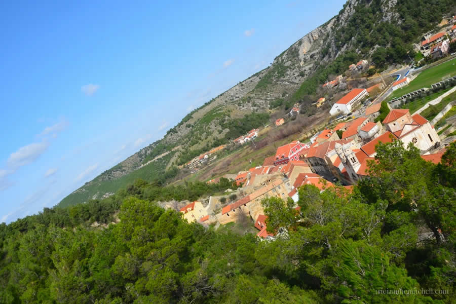 Skradin Croatia Rooftops