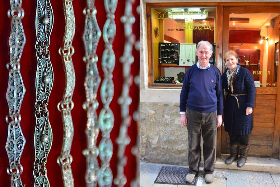 Split Croatia Master Jeweler Filigree Viktor