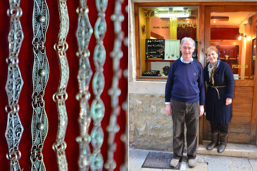 Split Croatia Master Jeweler Filigree Viktor