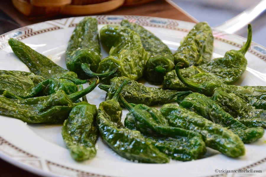 Tapas Green Peppers