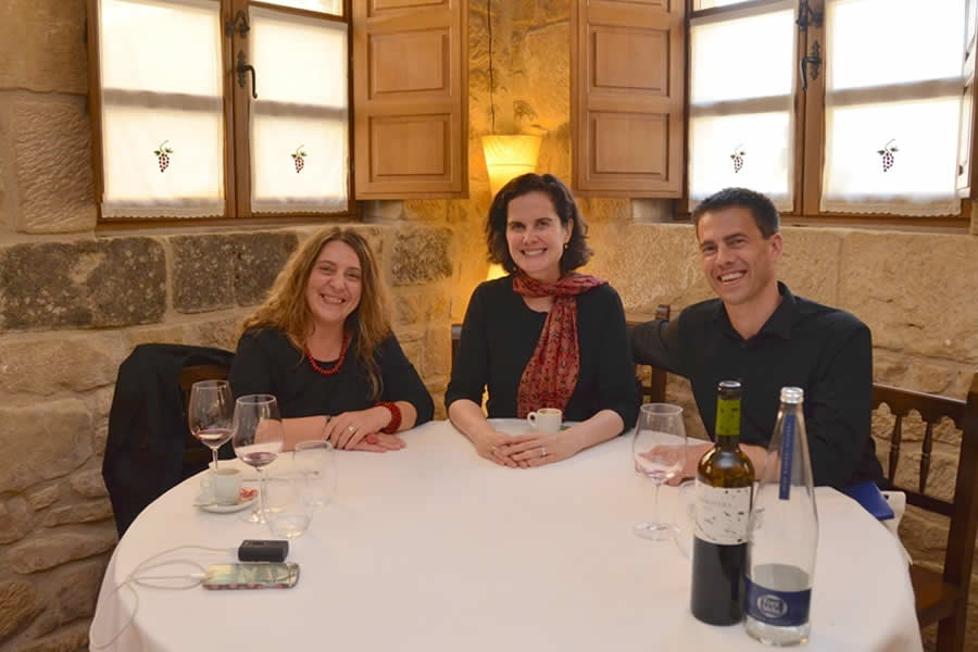 Thabuca Wine Tour lunch in Rioja Alavesa