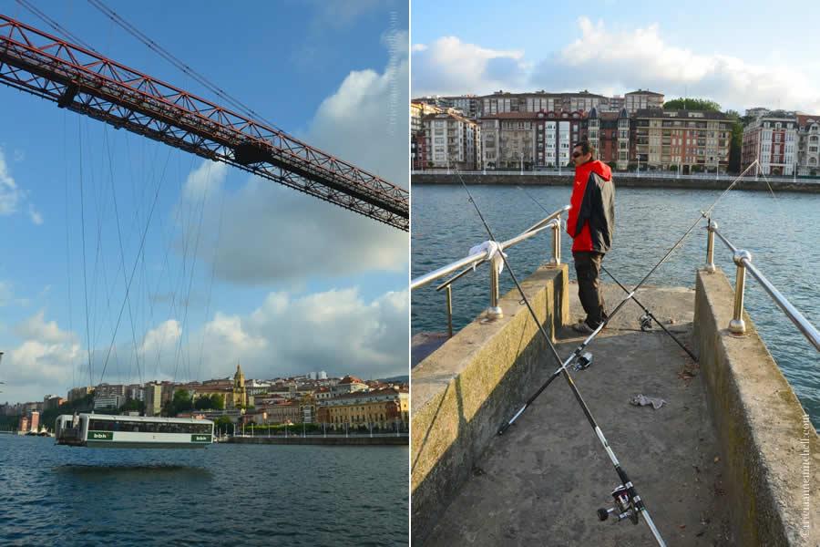 Vizcaya Bridge Fishing Bilbao