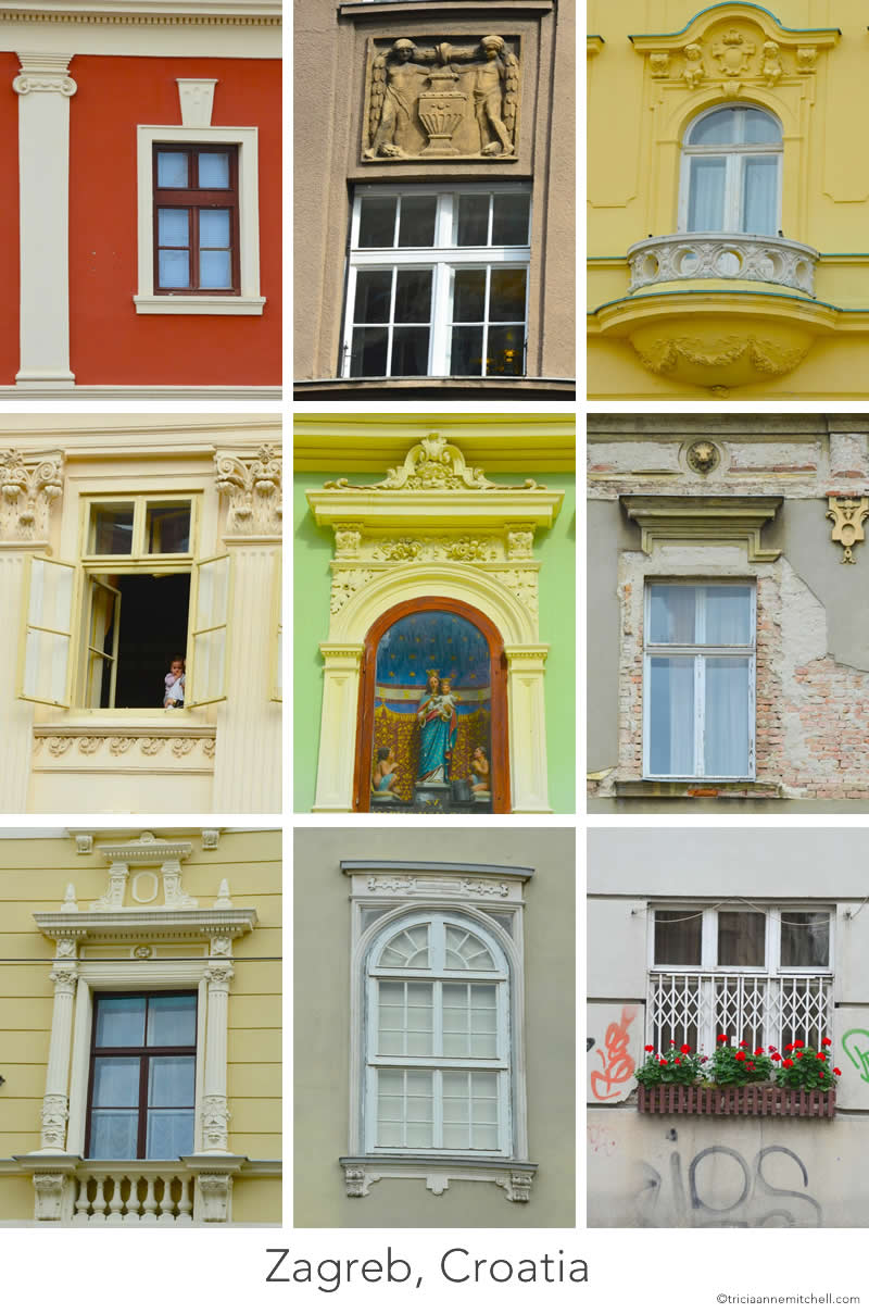 The Windows Of Zagreb Croatia Travels With Tricia