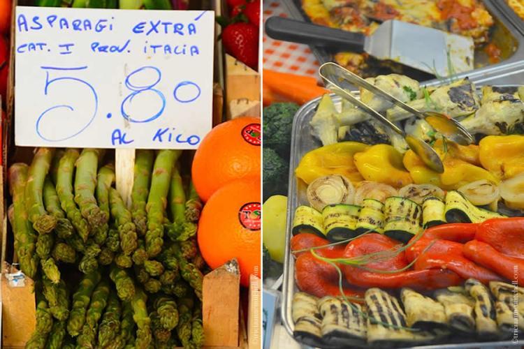 Asparagus Modena Market Italy